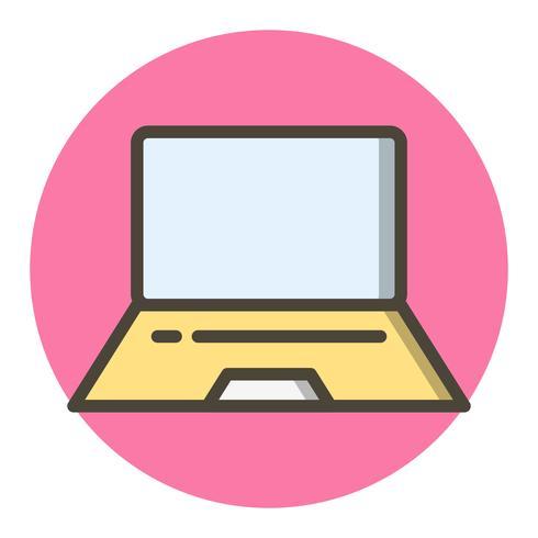 Disegno dell'icona del computer portatile