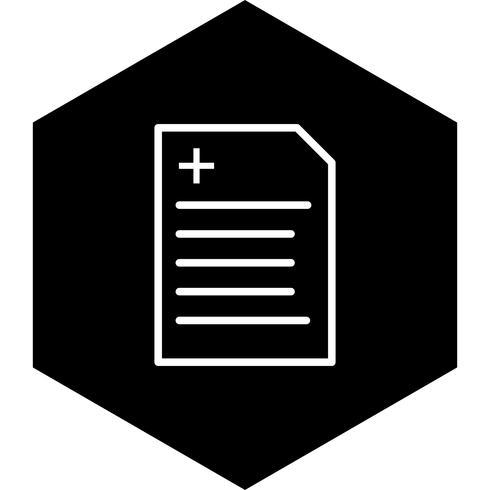 Diseño de icono de informe vector