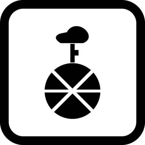 Einrad Icon Design