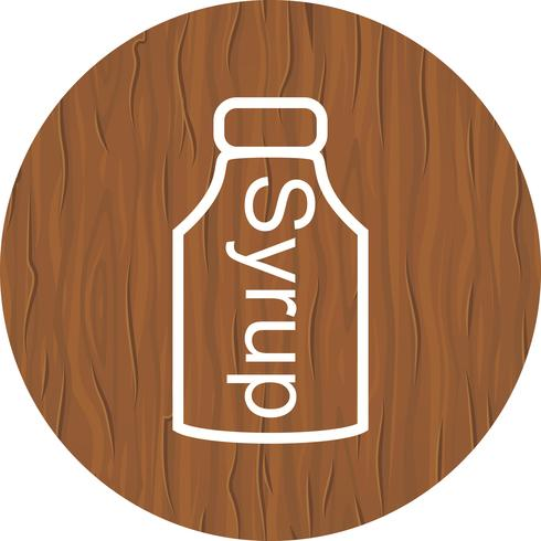 Syrup Icon Design vector