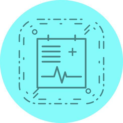 medicinsk diagram ikon design