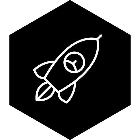 diseño de icono de cohete vector