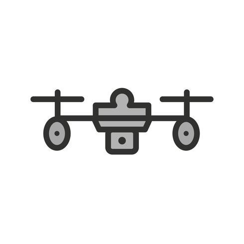 diseño de icono de drone