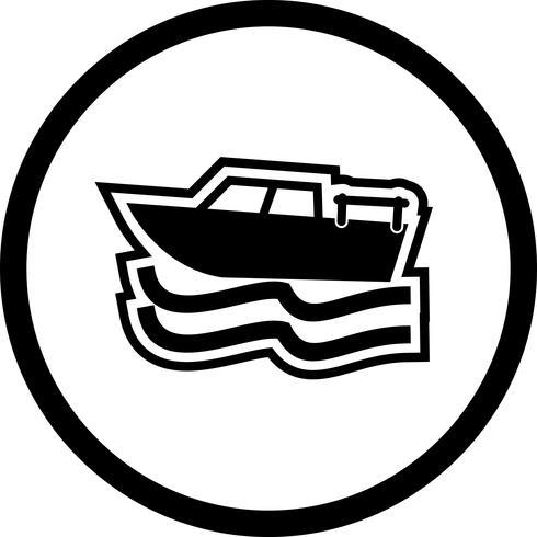 Design de ícone de barco