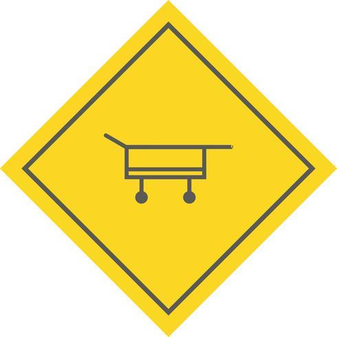 Stretcher pictogram ontwerp