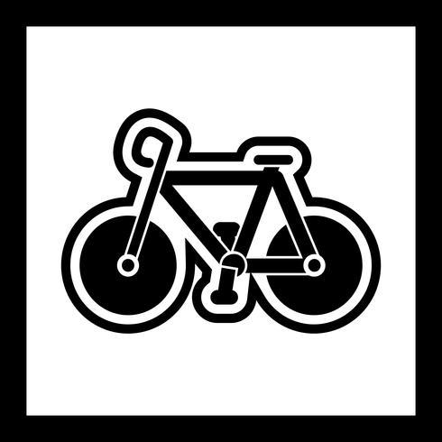 Conception d'icône de vélo