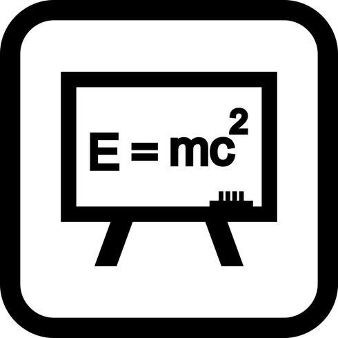 diseño de icono de fórmula vector