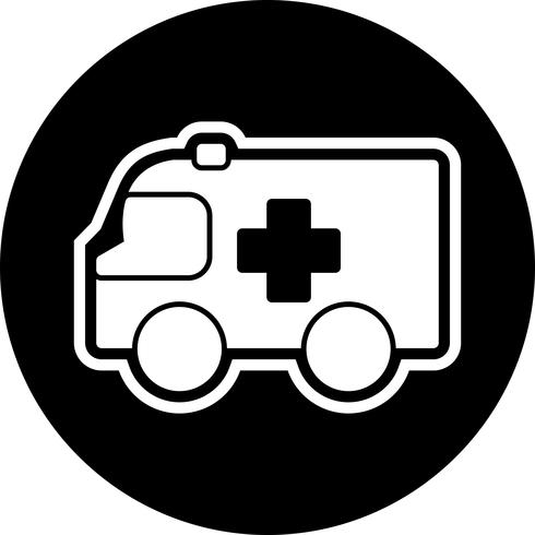 Ambulance Icon Design vector