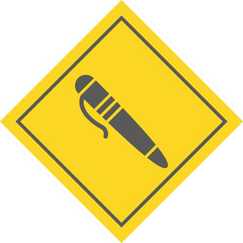 Pen Icon Design vector