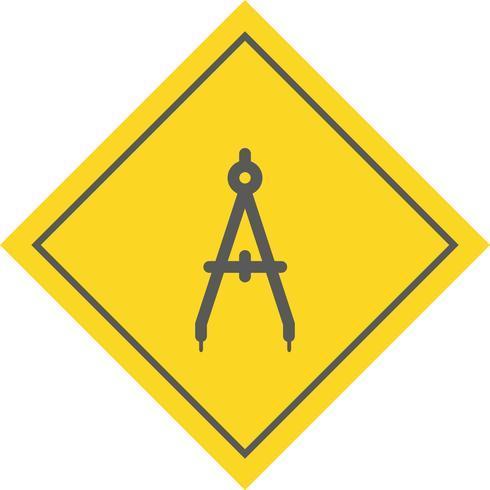 kompas pictogram ontwerp