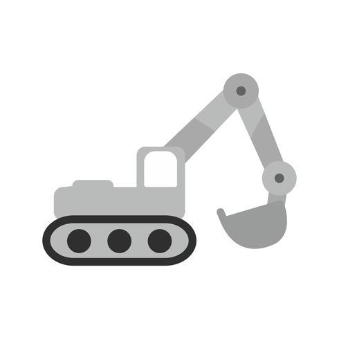 Excavator Icon Design