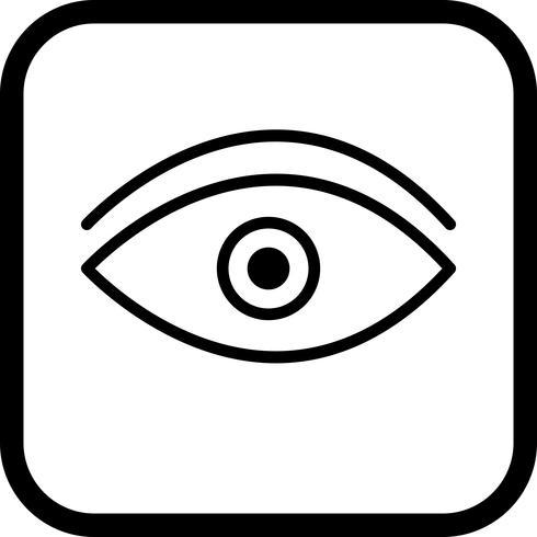 Diseño de icono de ojo vector
