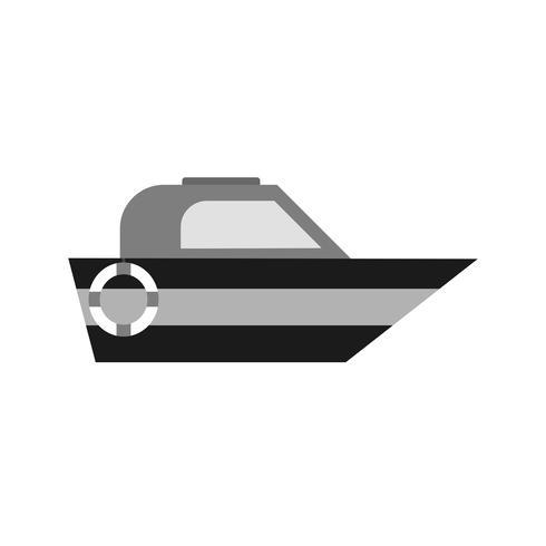 Diseño de icono de barco