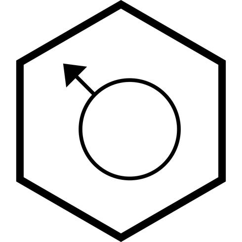 Male Icon Design vector