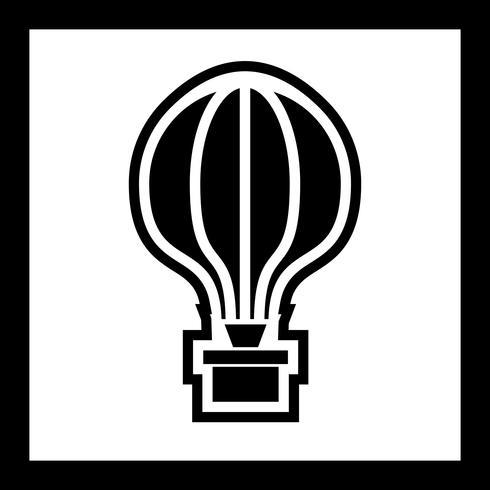 Diseño de icono de globo de aire vector
