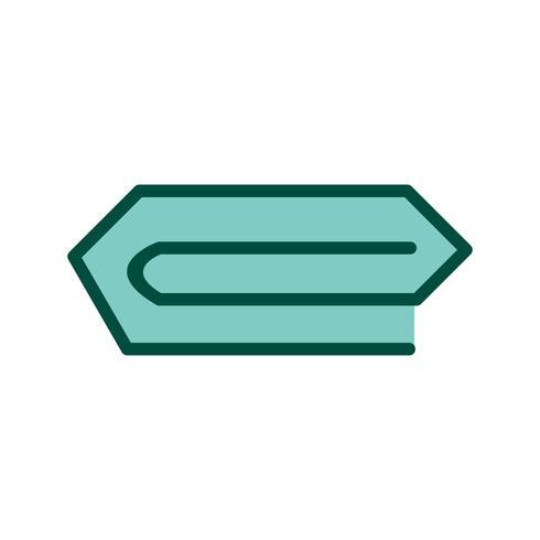 Pin icon design vector