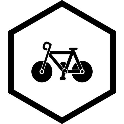 Design de ícone de bicicleta vetor