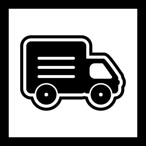 Diseño de icono de camión vector