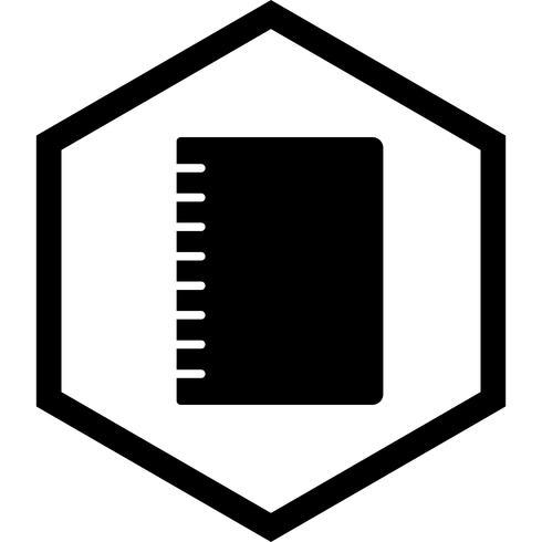 Spiraalvormig Notebook pictogram ontwerp