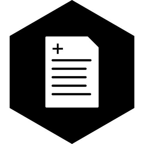 Diseño de icono de informe