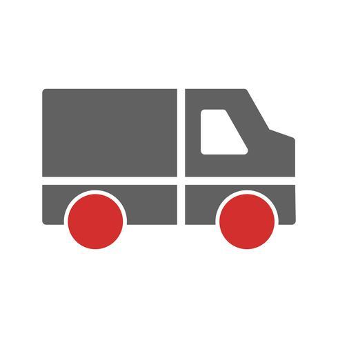 Van Icon Design vector