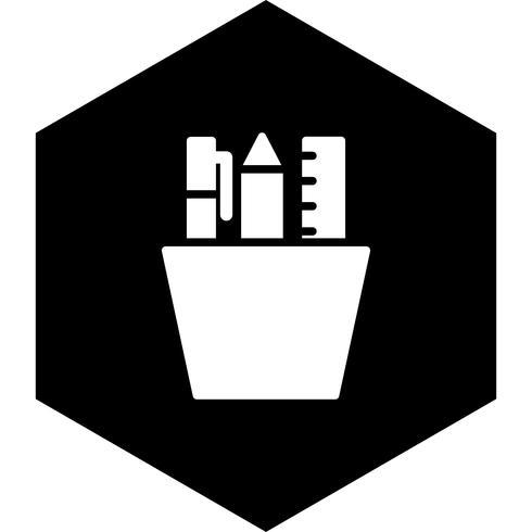 Diseño de icono de papelería vector