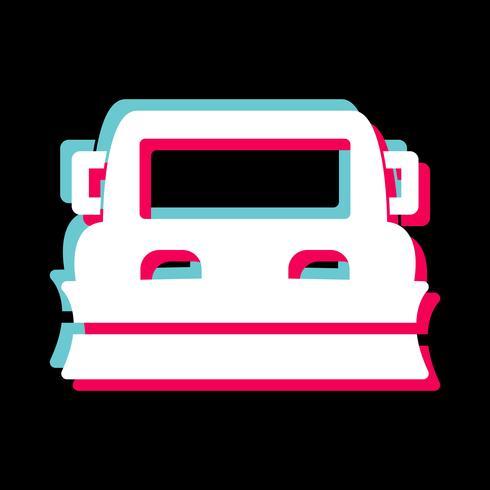 Diseño de icono de quitanieves vector