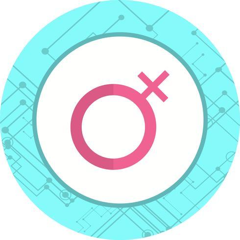 Diseño de icono femenino vector