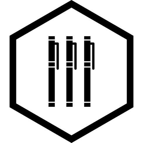 Diseño de iconos de marcadores vector