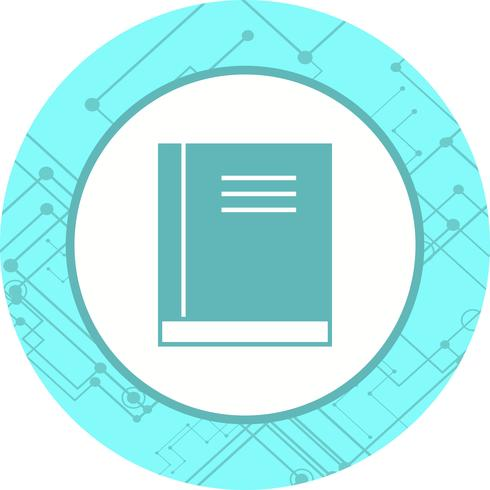 Diseño de icono de libro vector