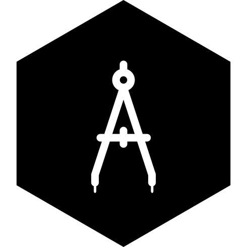 Brújula Icon Design vector