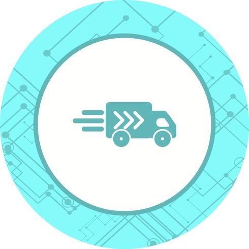 Diseño de íconos de camiones vector