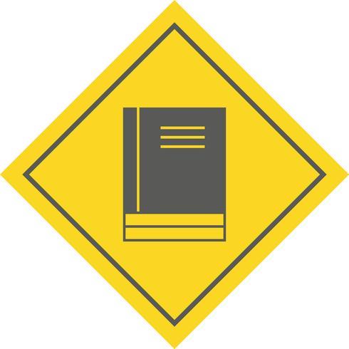 Diseño de iconos de libros vector