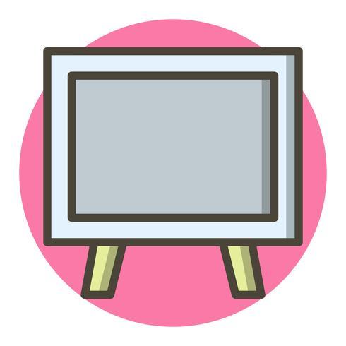 Diseño de icono de pizarra vector