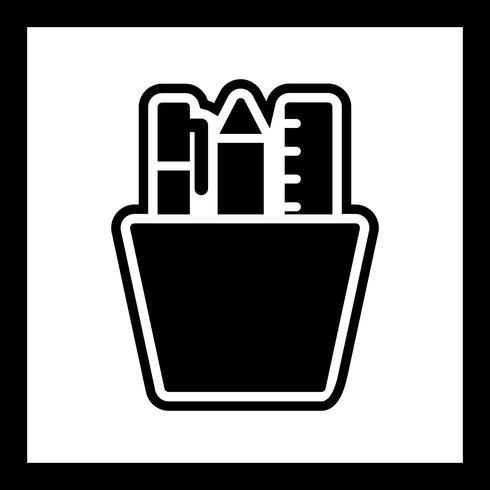 Disegno dell'icona della cancelleria