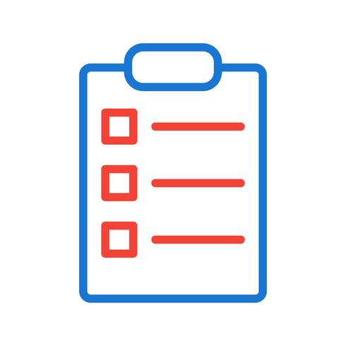 List Icon Design
