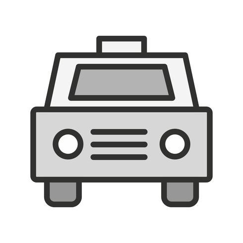 Taxi pictogram ontwerp