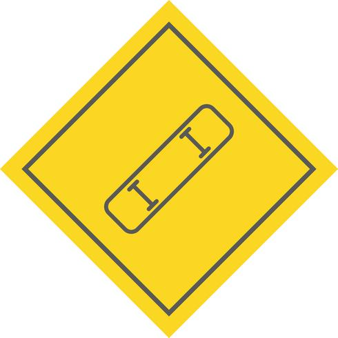 diseño de icono de tabla de skate