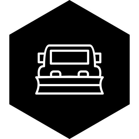 Snowplow Icon Design