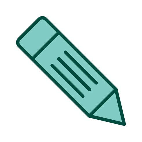 Diseño de icono de lápiz vector