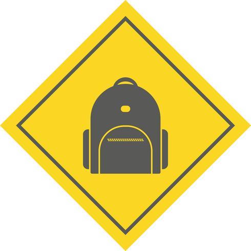 disegno dell'icona bagpack