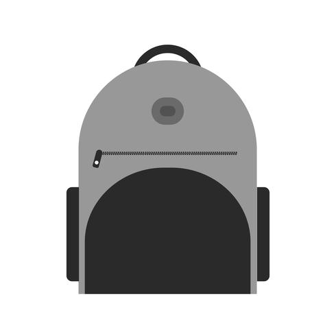 Bagpack Icon Design vector