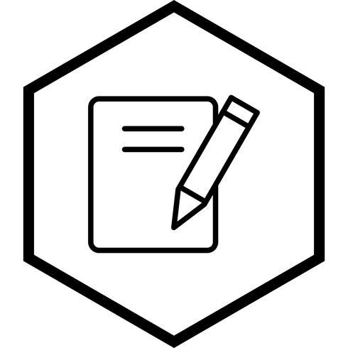 Notas icono de diseño