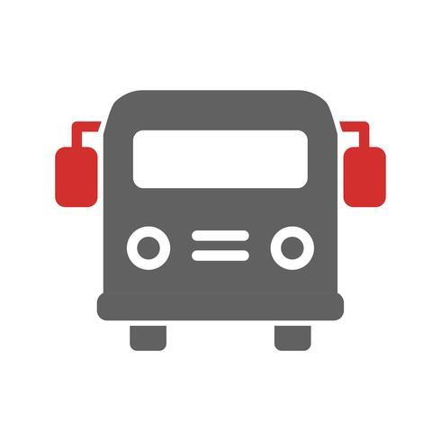 School bus pictogram ontwerp