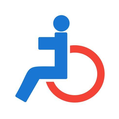 Design d'icônes handicapés