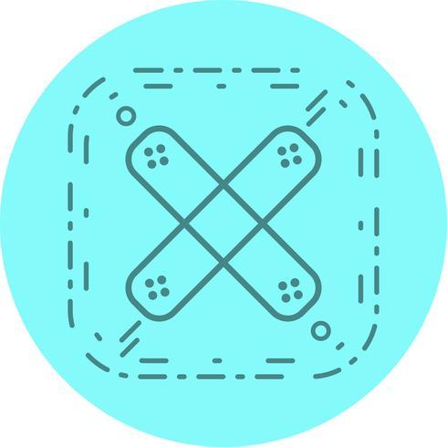 diseño de icono de ayuda de banda