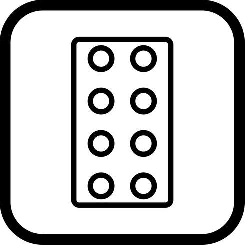 Design de ícone de comprimidos
