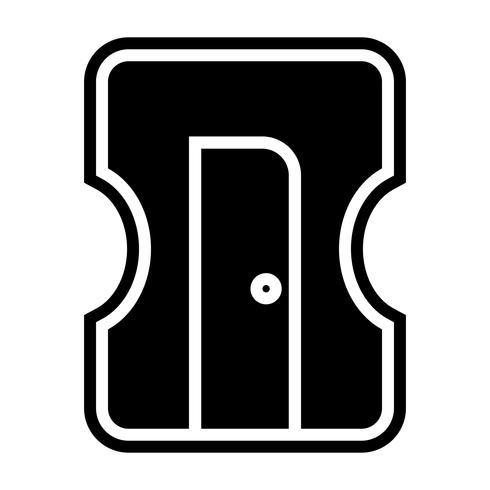 Diseño de icono de sacapuntas
