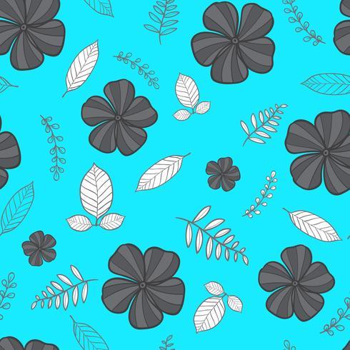 modèle sans couture de fleur, motif floral