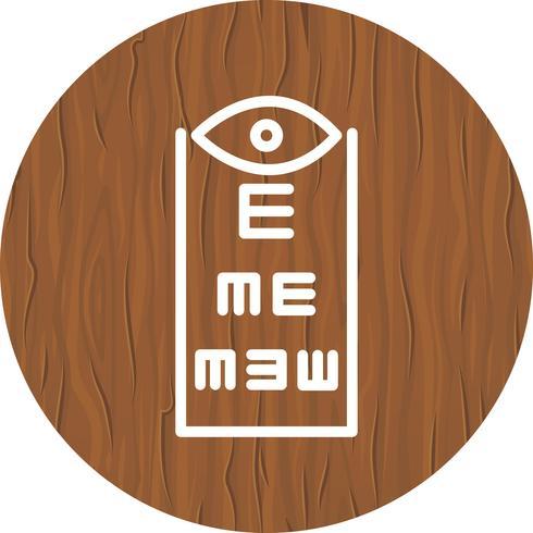 Eye Test Icon Design